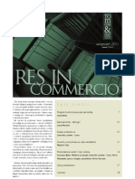 Res in Commercio 09/2011
