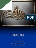 trauma management over view