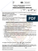 PLAN FORTALECIMIENTO INGLÉS 8º  III  PERIODO