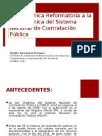 Contratacion Publica Primer Debate