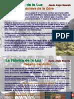 """folleto novela """"La Fábrica de la LUZ"""""""