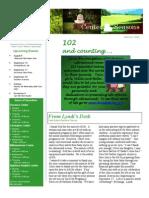 Newsletter Summer 2011