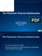 Pharma Doctor Relationship