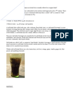 Soft Drinks Introduction