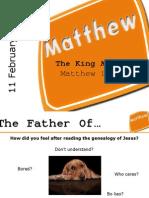 Matthew Chap 1