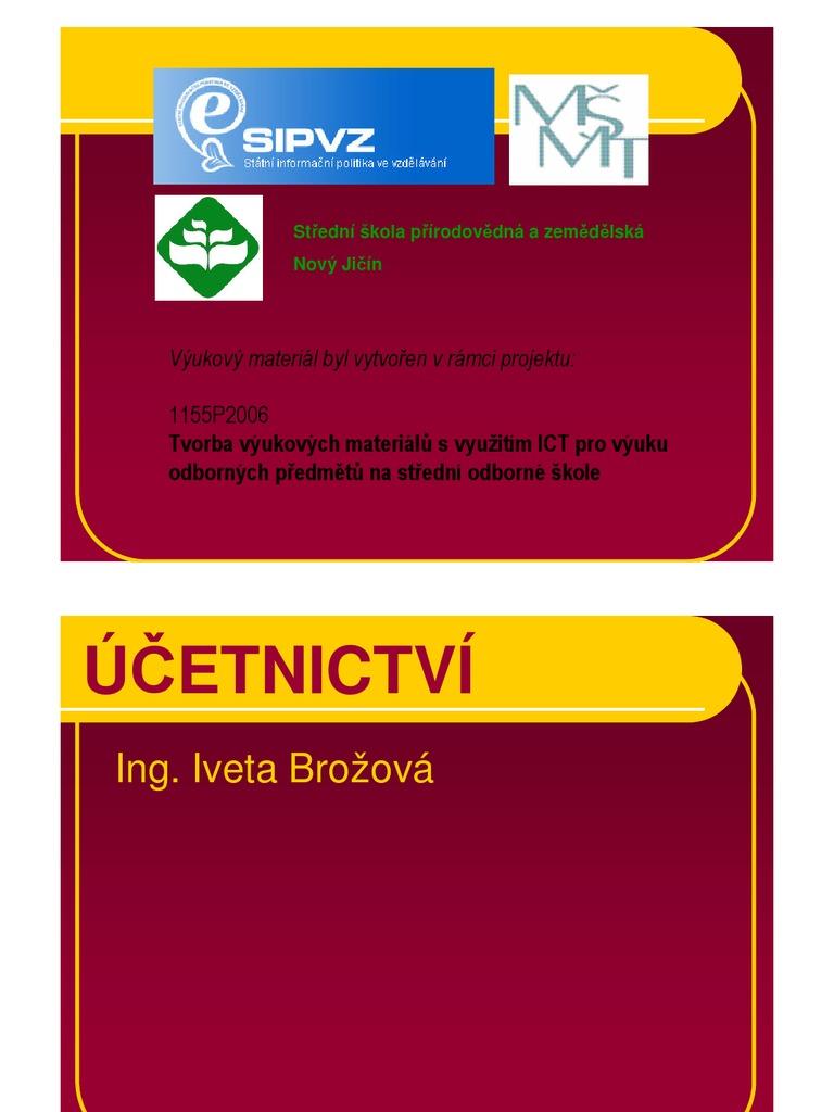Kontakty - www.vase-ucetnictvi.cz