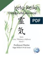 Projeto Reiki - Energia Vital Universal (Nvel 1)