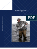 Bass Fishing Reports from PBF