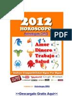 Horoscopo 2012 gratis
