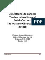 Marzano Protocol