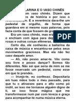 A BAILARINA E VASO CHINÊS_