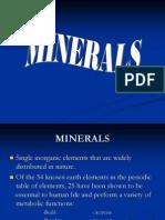Minerals 07handout