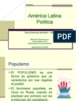 AMÉRICA LATINA-POLITICA