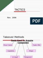 Merger Tactics Lecture2(06)