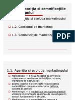 Curs 1 Evolutia Si Semnificatiile Marketingului