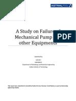 A Study on Failure of Mechanical Pump