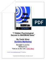 Psychological Sales Secrets