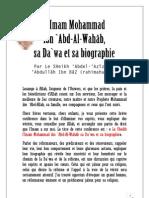 Biographie Muhammad ibnu 'abdelWahhab, rahimahuLlah