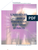 Unidad III. Fluidos de Perforacion