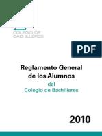 Reglamento General Cb