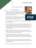 Gandhiji's Wit & Wisdom - Quotes