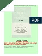 R P Jasinski Science Fiction 1986