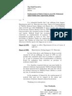 Reimbursement of Medical Claims