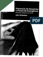 PREVENÇÃO DESASTRES E PLANOS EMERGÊNCIA - John Mcllwane