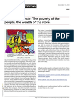 Povery and Wealth in America and What Makes it Possible