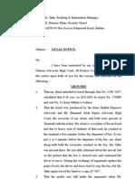 Legal Notice (DAEWOO)