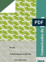 Comunicado do Ipea - 2011 - Outubro - nº 115 - Perfil dos migrantes em São Paulo