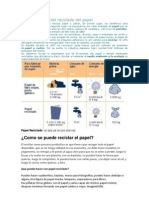 La Import an CIA Del Reciclado Del Papel