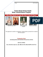 The Perfect Body Perfect Health Preppack