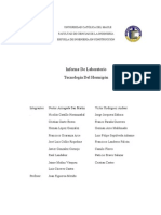 Informe Tecnologia Del Hormigon