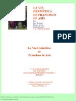 La Vía Hermética de Francisco de Asís