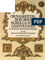 7350073 Ornnamental Borders Scrolls Ang Car Touches in Historic Decorative Styles