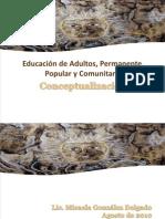 Educ Popular y Educ Com Unit Aria 2010
