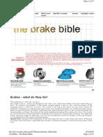 Brake Bible