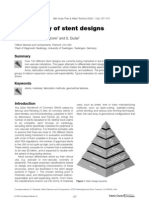 Stoeckel - A Survey of Stent Designs