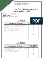 Cont Do Program Tico.história