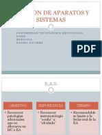 Revision de Aparatos y Sistemas