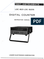 Leader LDC-823_823S Instruction Manual
