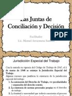 Juntas de Conciliación y Decisión
