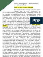 Enfoque Semantico Comunicativo y de Analisis Del Discurso