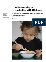Food Insecurity Households with Children