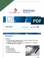 DB2010-DOC22 CSBC Training Fraud Awareness 2009