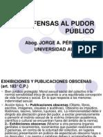 OFENSAS AL PUDOR PÚBLICO