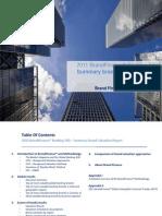 2011 Brand Finance Banking 500 Generic Report