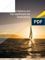 US Financial Reform Act Tax Implications