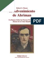 El Advenimiento de Ahriman